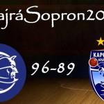 Milos Borisov extrájával egyenlített a Sopron a Kaposvár ellen (#HajráSopron2015/2.)