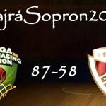 Idén hatodszor hódította el a Magyar Kupát az UNIQA Sopron (#HajráSopron2015/3.)